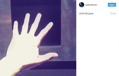 Literamente Pablo dijo que esta mano era de un androide